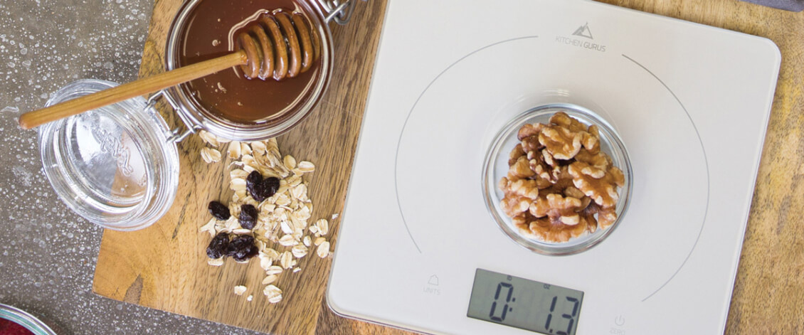 Greater Goods Nutrition Facts Food Scale